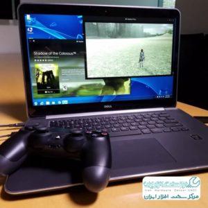 اتصال کنسول بازی سونی به لپ تاپ
