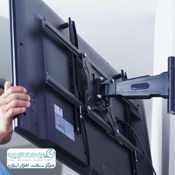 نصب تلویزیون سونی روی دیوار