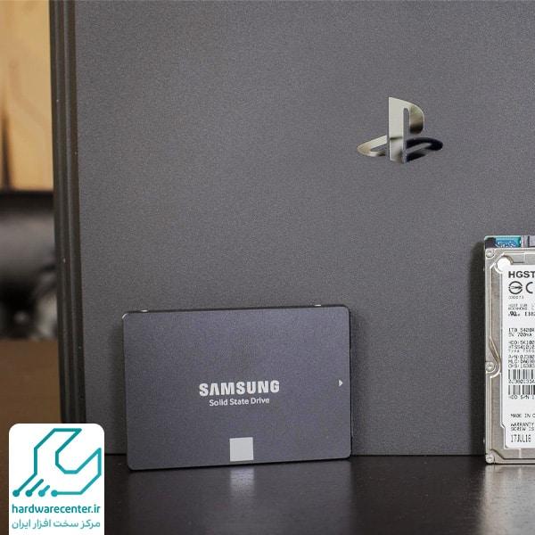 نصب هارد SSD روی دستگاه PS4