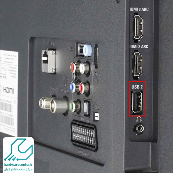 تعمیر پورت USB تلویزیون سونی