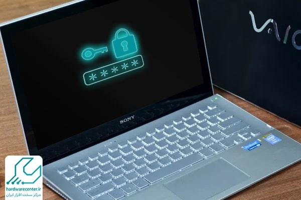 باز کردن قفل لپ تاپ سونی