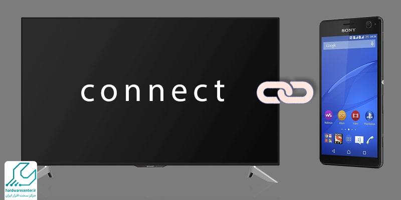 آموزش اتصال موبایل سونی به تلویزیون